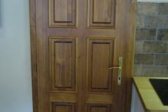 Vchodové dveře - Truhlářství Bekr